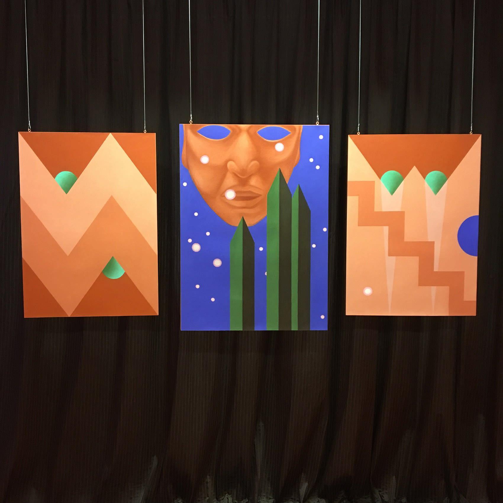 florian raditsch, installation view, contemporary artist vienna