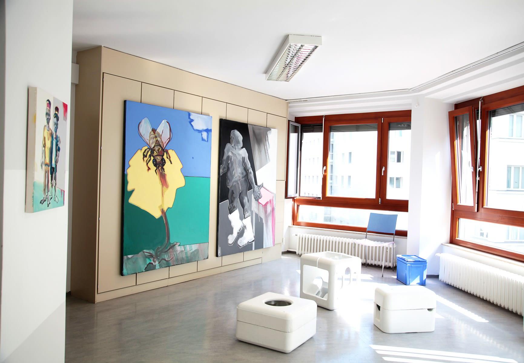 galerie thoman, Vienna, exhibition view