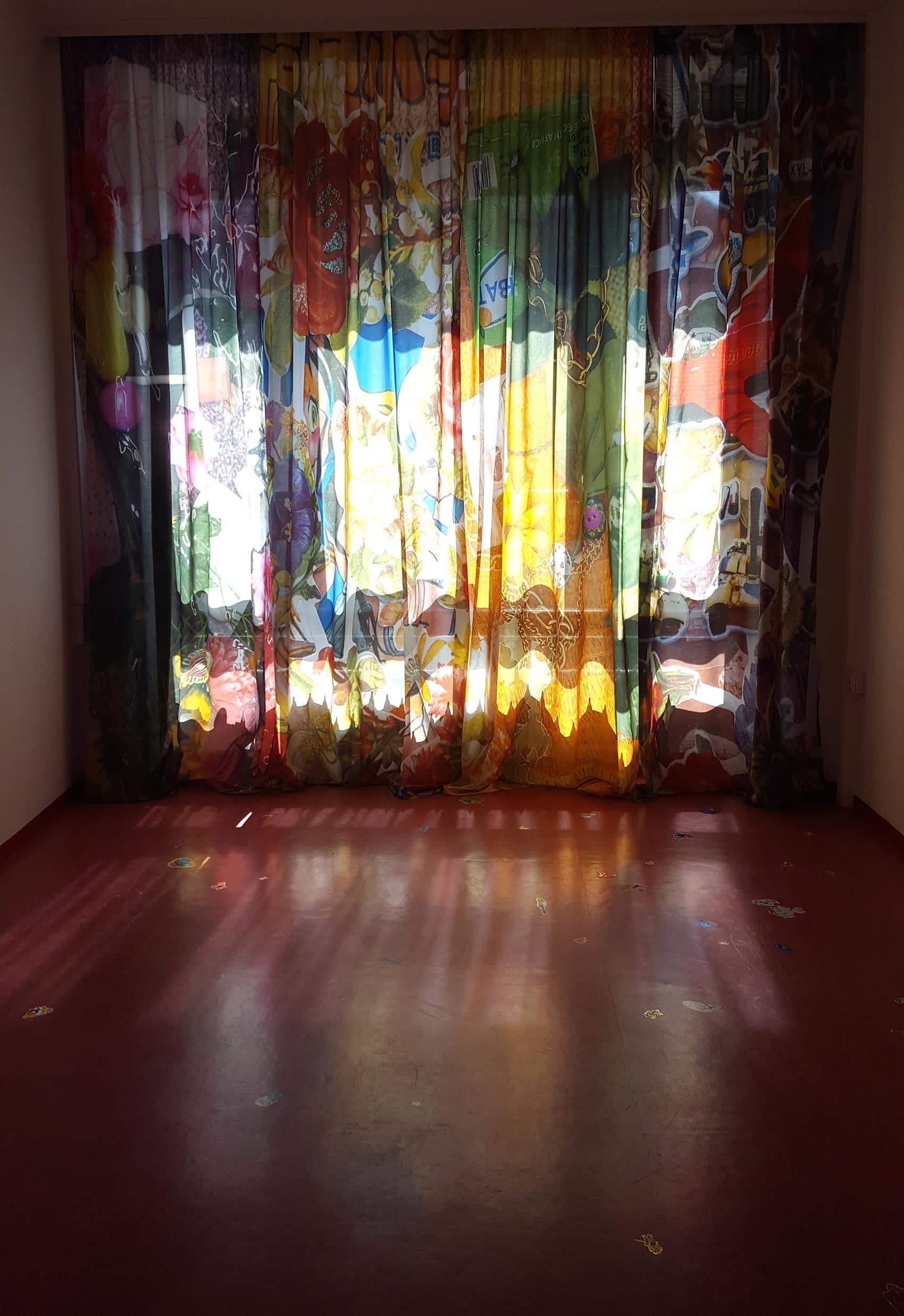 nana mandl, artist, contemporary art installation