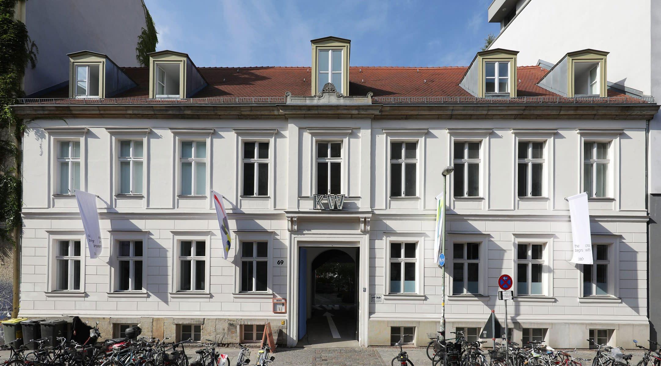 kw institute, auguststrasse, berlin