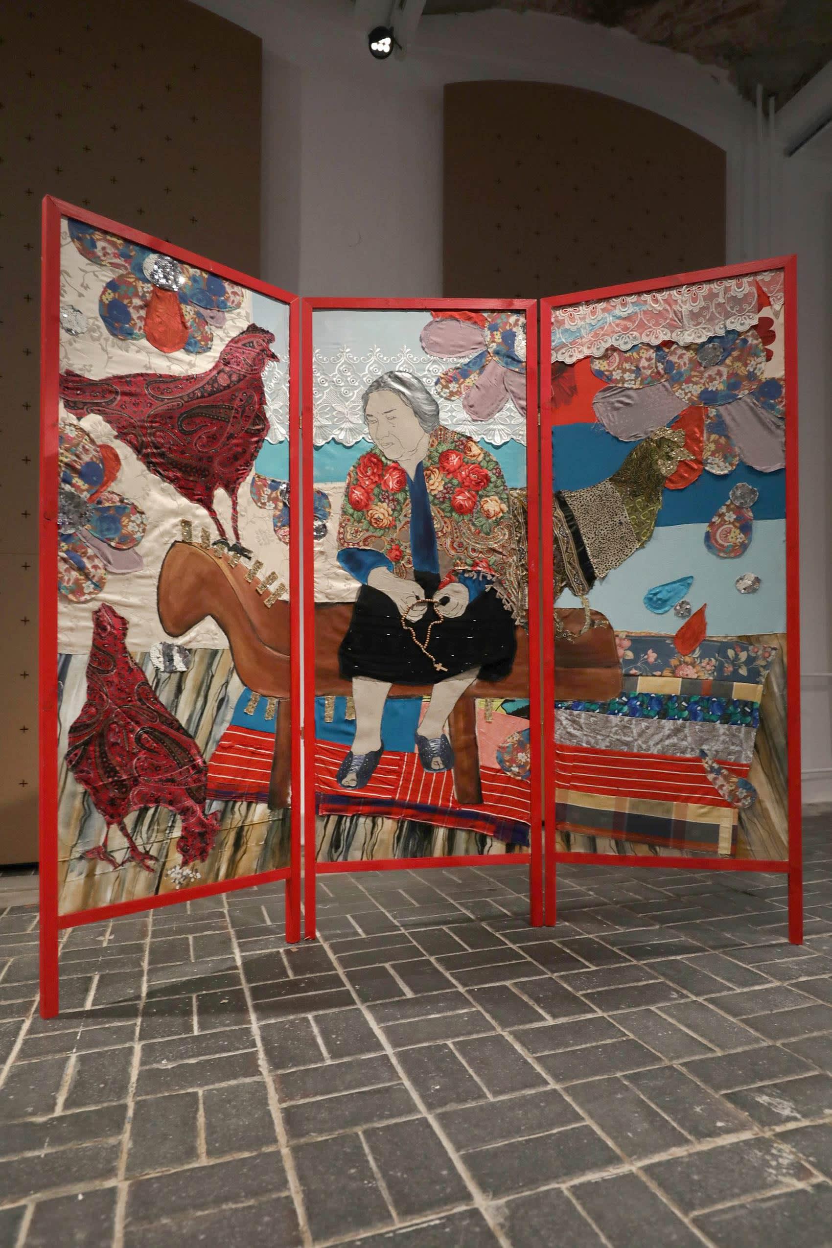 małgorzata mirga-tas, artist, lost memory, artwork, installation view