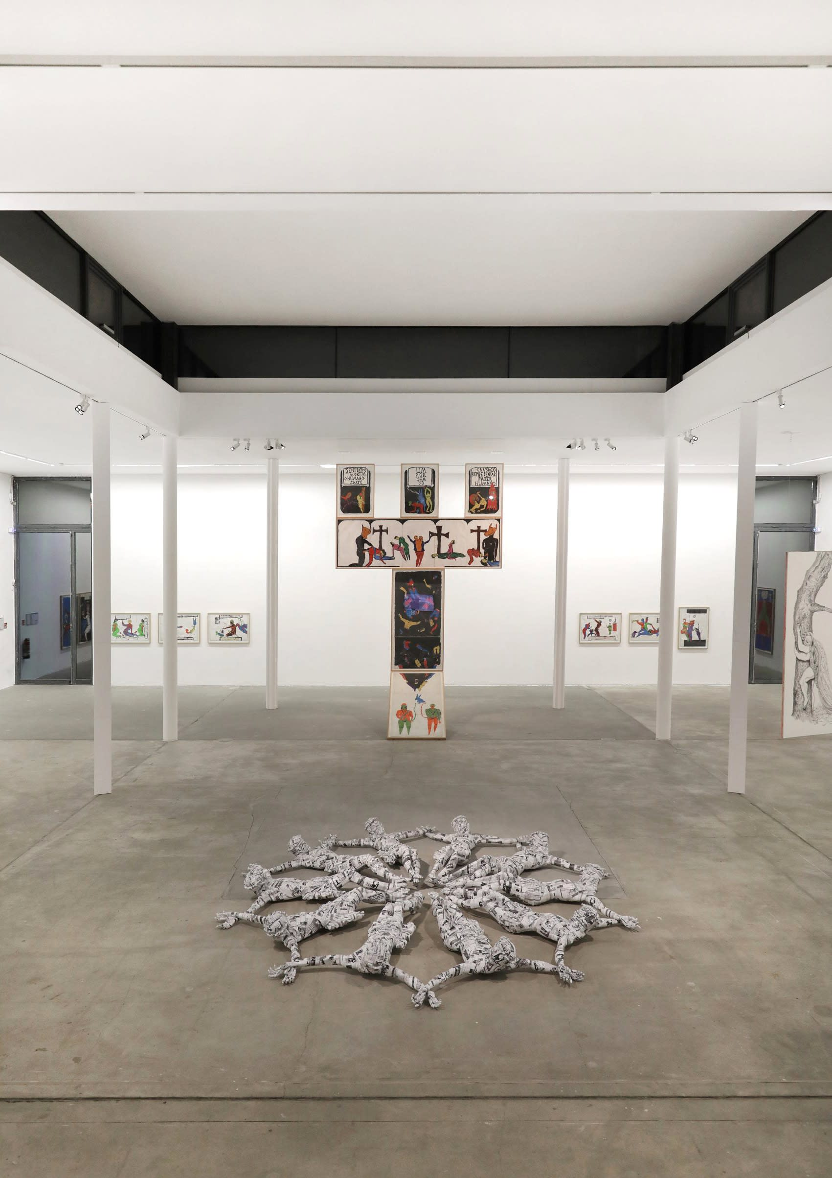 pedro moraleida bernardes, artist, installation view,