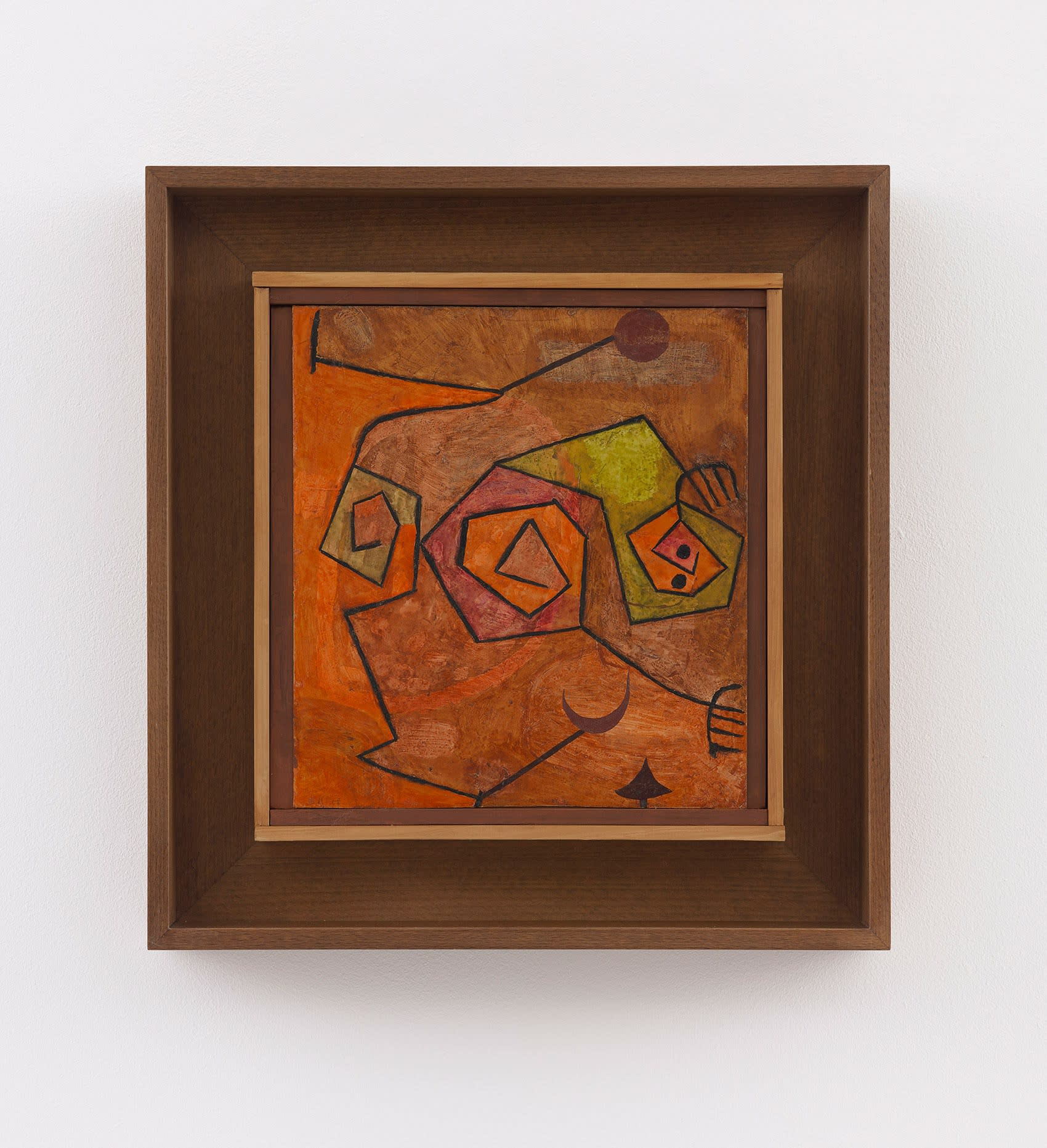 paul klee, folter, torture, 1938, frieze masters, david zwirner gallery