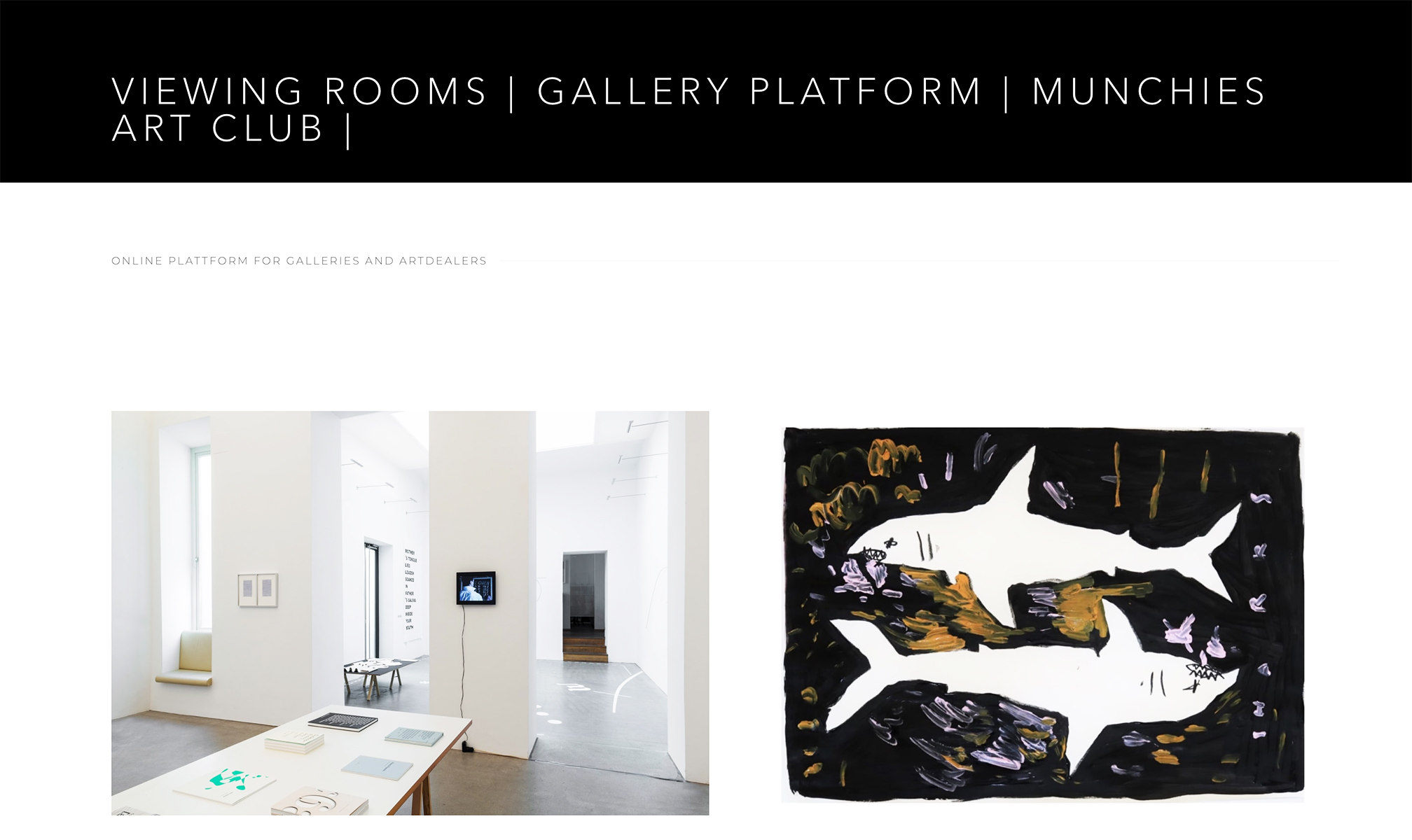 what is an online viewing room, art, gallery, exhibition, digital, description, answer