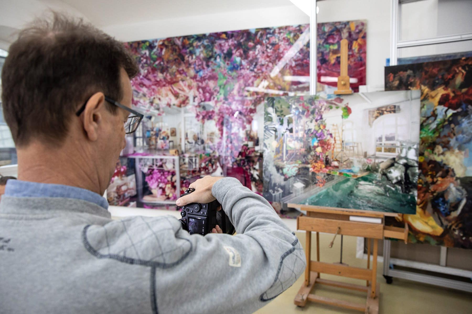 open artist studio vienna, lois renner ,