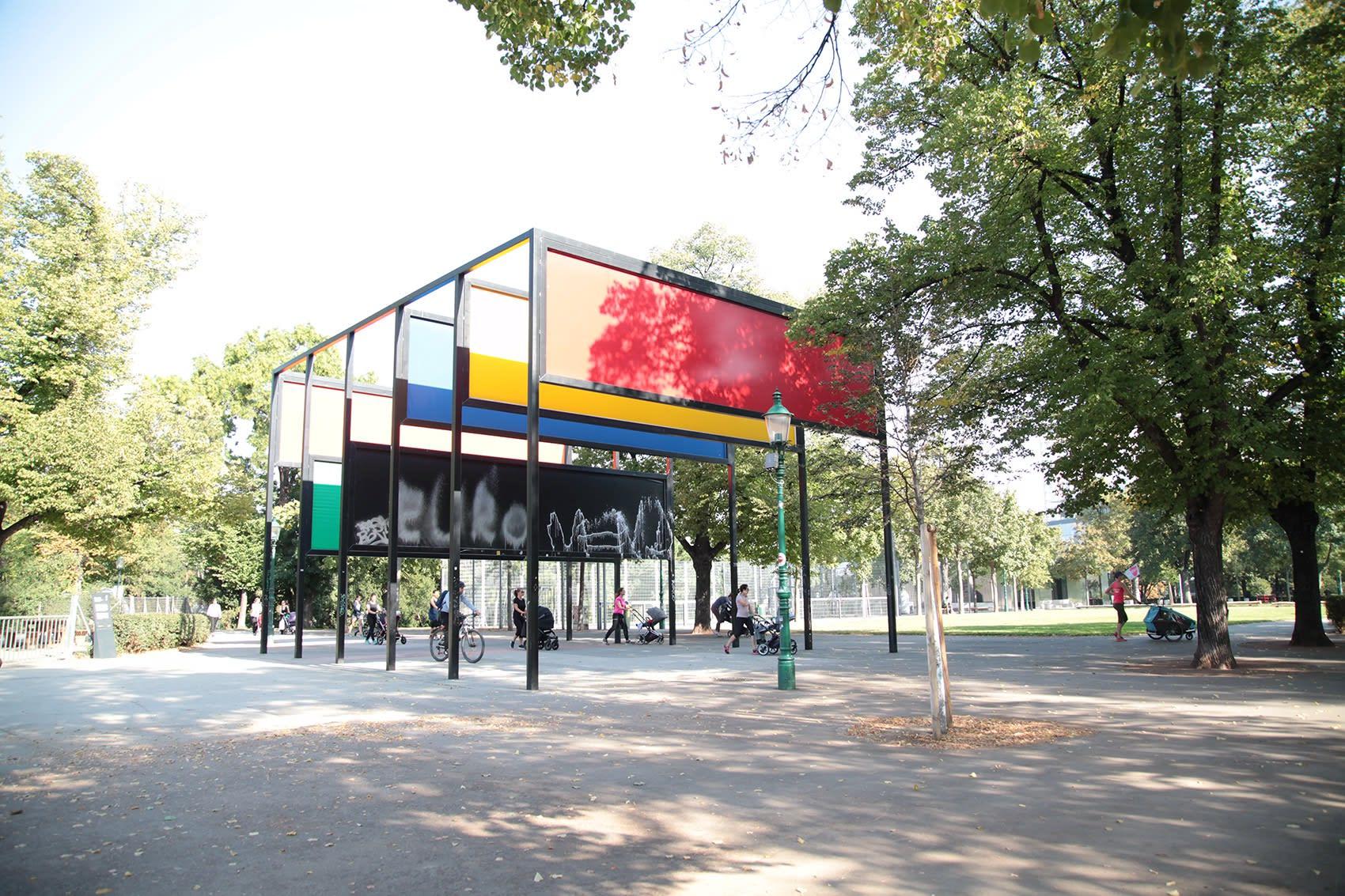 vienna contemporary art galleries, donald judd, mak museum