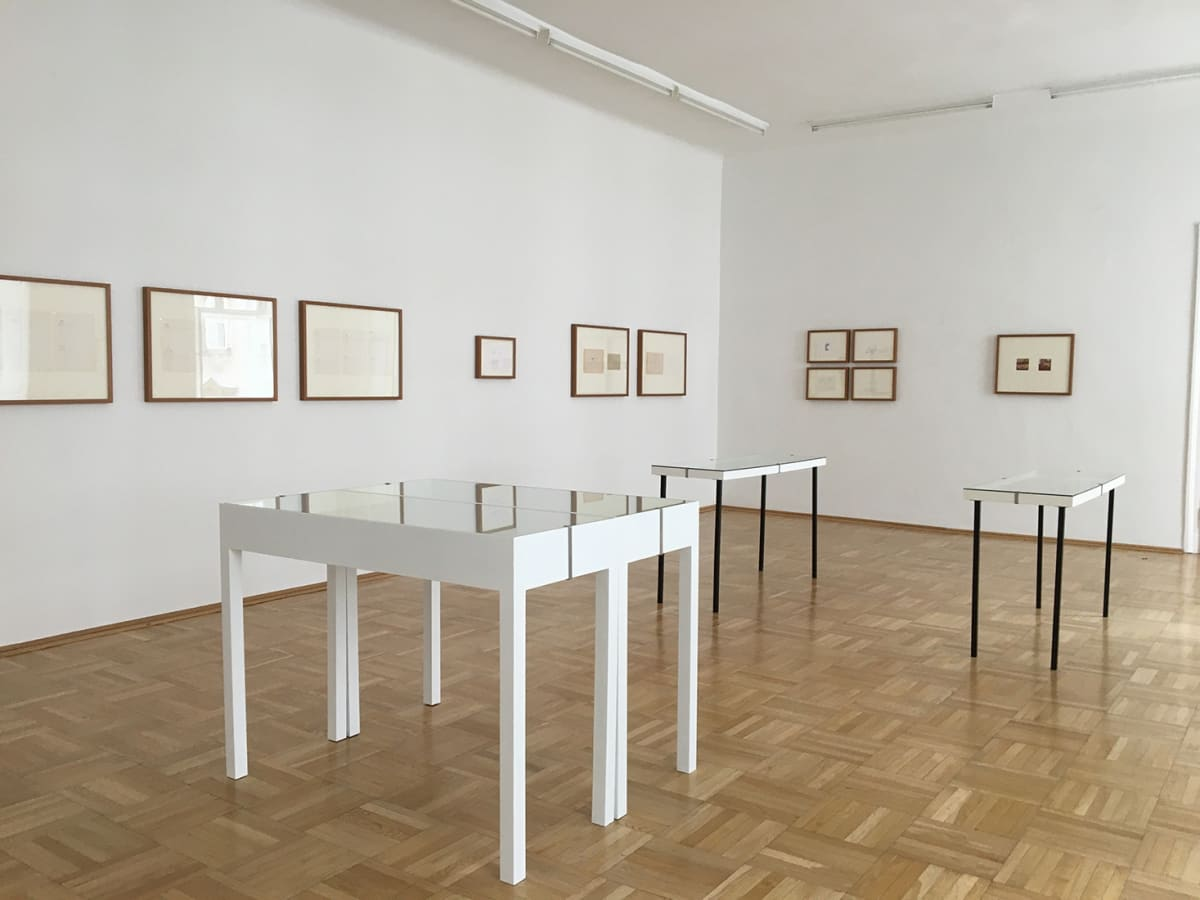 Ausstellungsansicht curated by vienna 2020 galerie nächst st. stephan