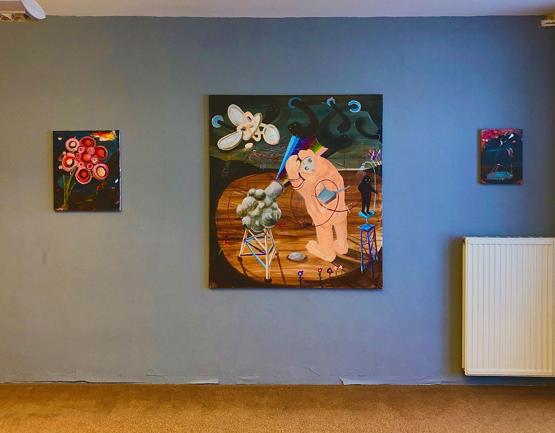 parallel art fair, vienna, Nicole gnesa gallery, review