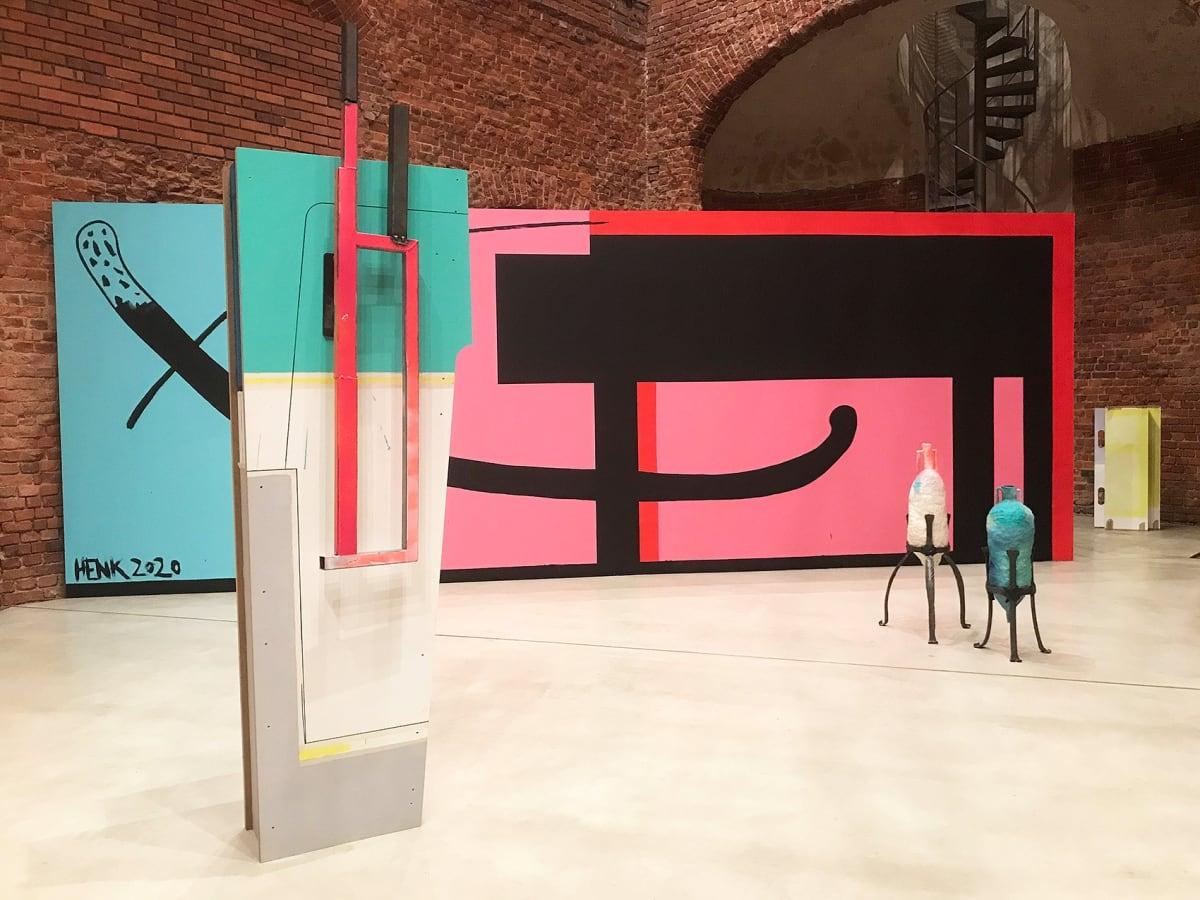 christina henkel, artist, exhibition view