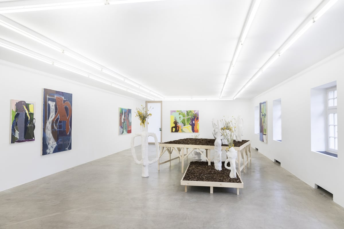 Exhibition view, installation, timur lukas at nak munchies art club