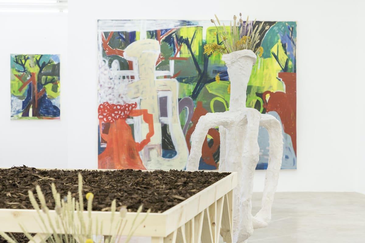 Meisterschüler-Ausstellung der Klasse Gregor Hildebrandt, timur lukas , munchies art
