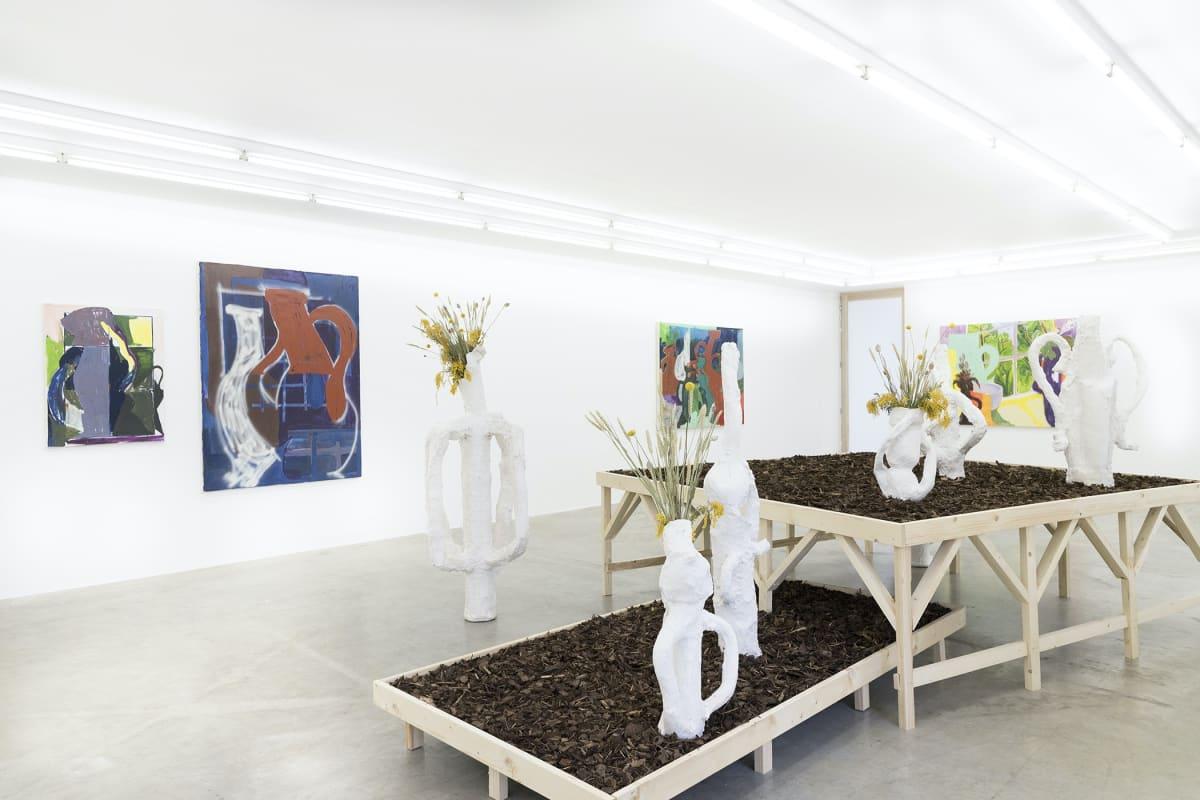 Austellungsansicht Neuer aachener kunstverein , egal voll mixed media
