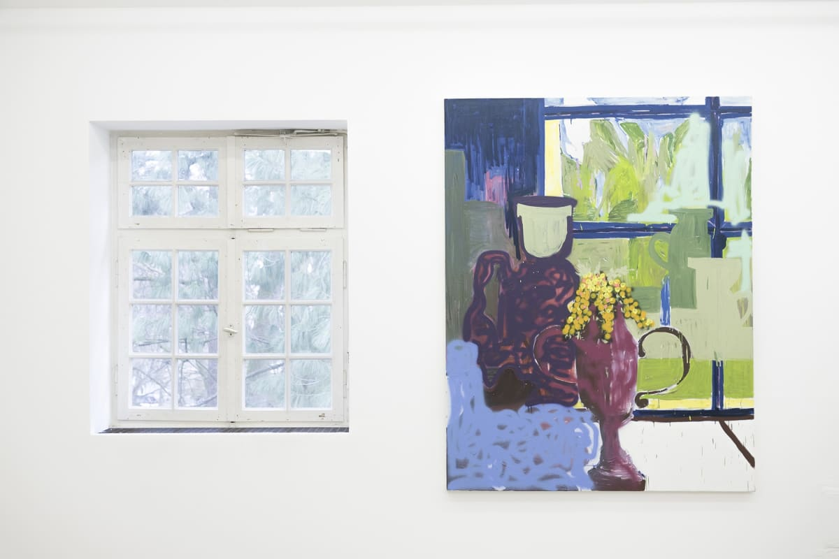 Timur Lukas paintings in Aachen munchies art