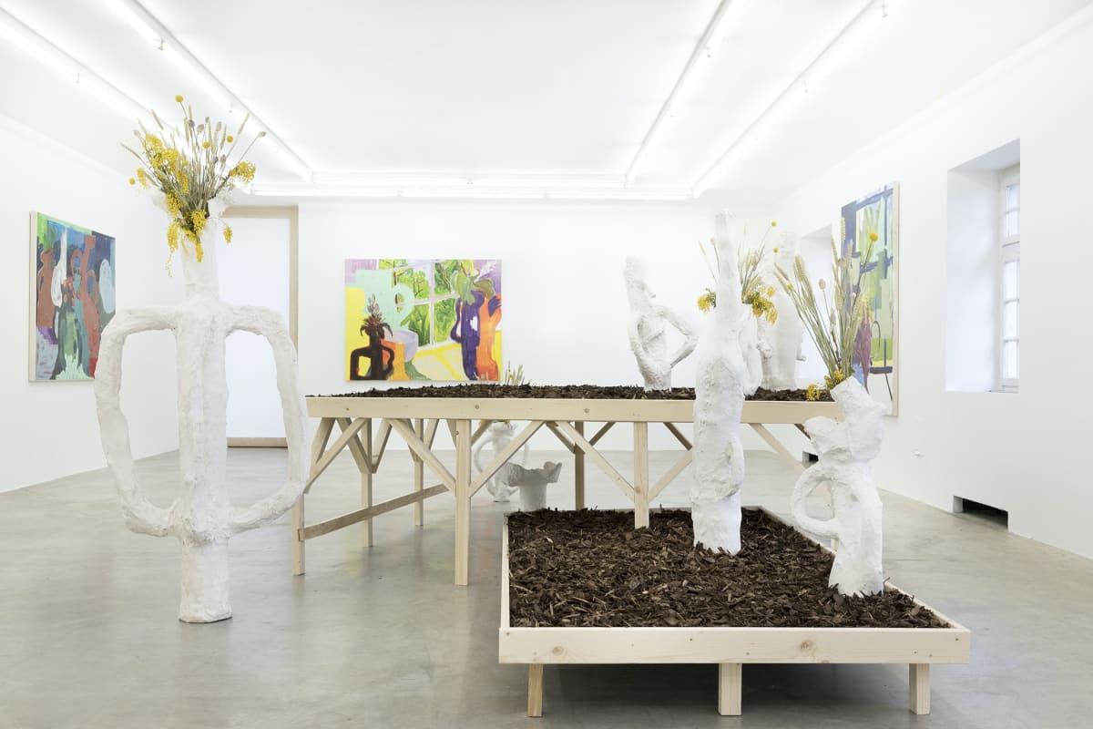 contemporary art from munich, timur lukas on view, munchies art