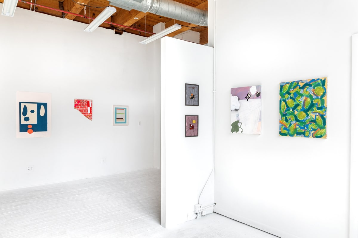 hans gallery, chicago, exhibition view, new art dealers, nada