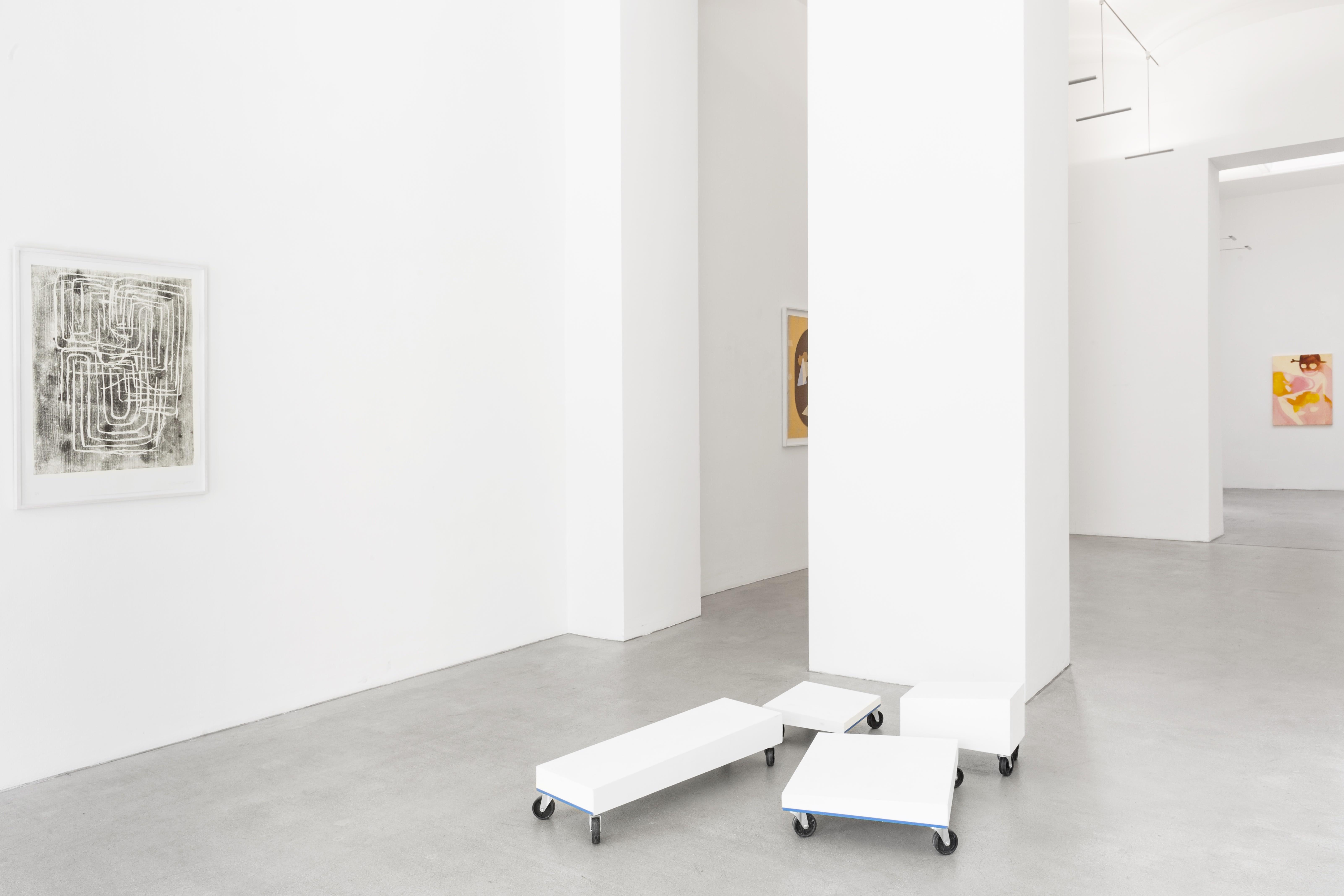josef zekoff, max landegren, rini tandon, sarah bogner, curated by, hybrides, Unknown identities, installation view, exhbition