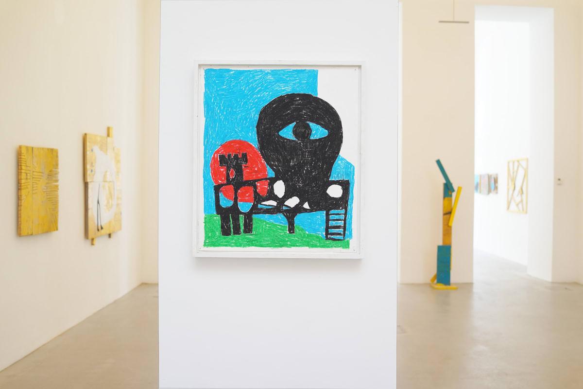 ernst koslitsch exhibition gallery raum mit licht shows the venue and artworks