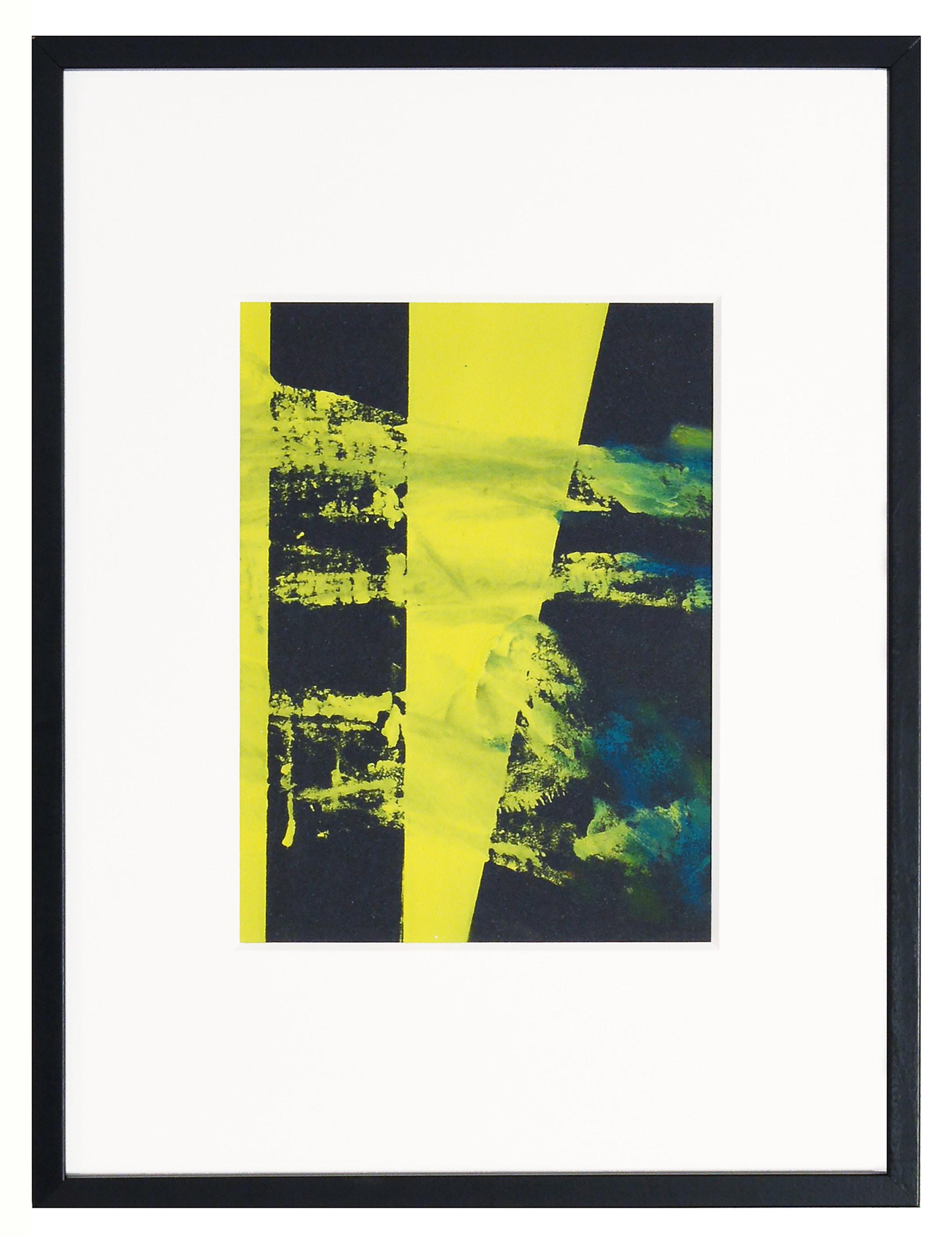 artwork, yellow, black, emanuel ehgartner, spotlight