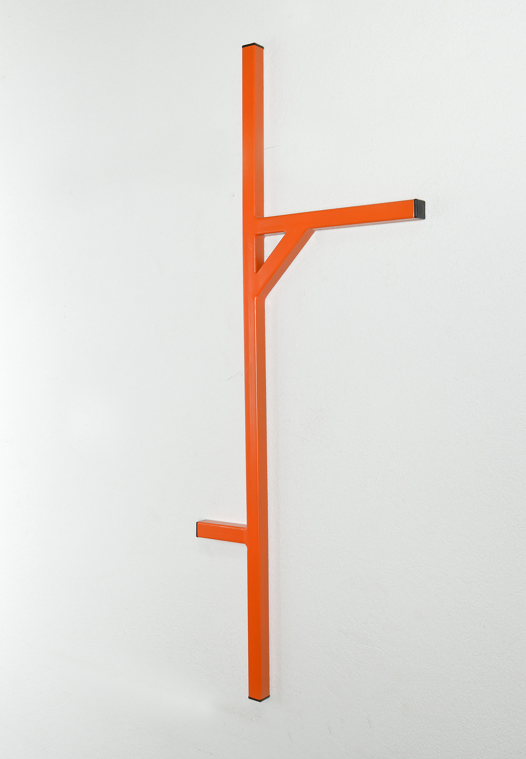 emanuel ehgartner, young contemporary artist, sculpture, steel, varnish, color, online art