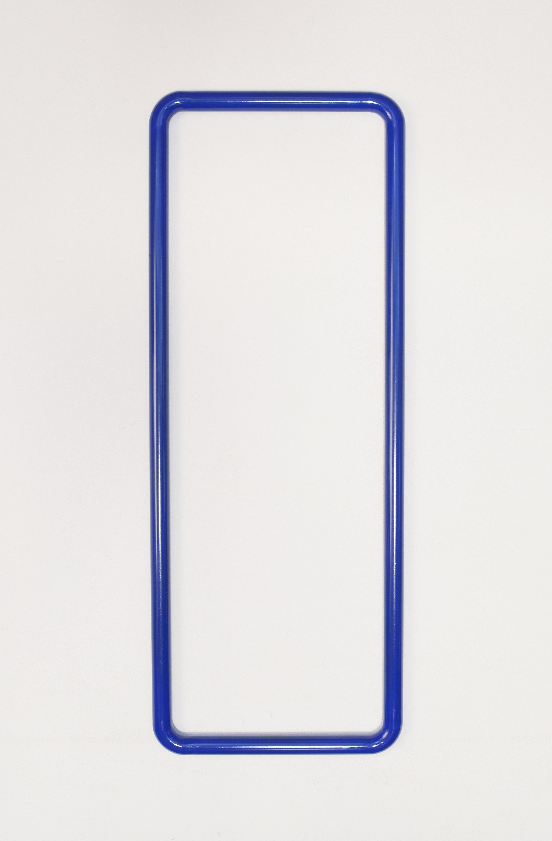 emanuel ehgartner, munchies art club, online viewing room, blue varnish on steel, sculpture, buy art online