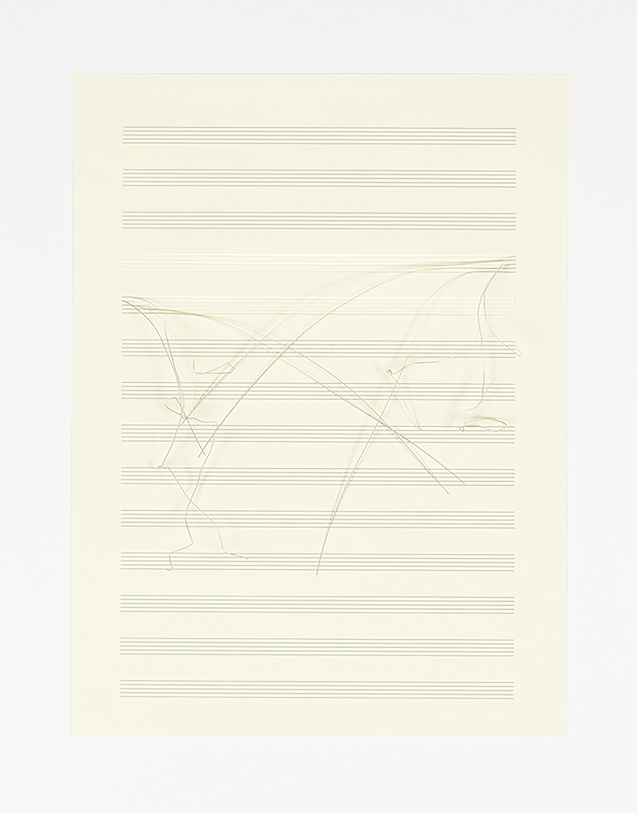 roman pfeffer, contemporary artist, sheet music manuscript paper, framed artwork, artist to watch
