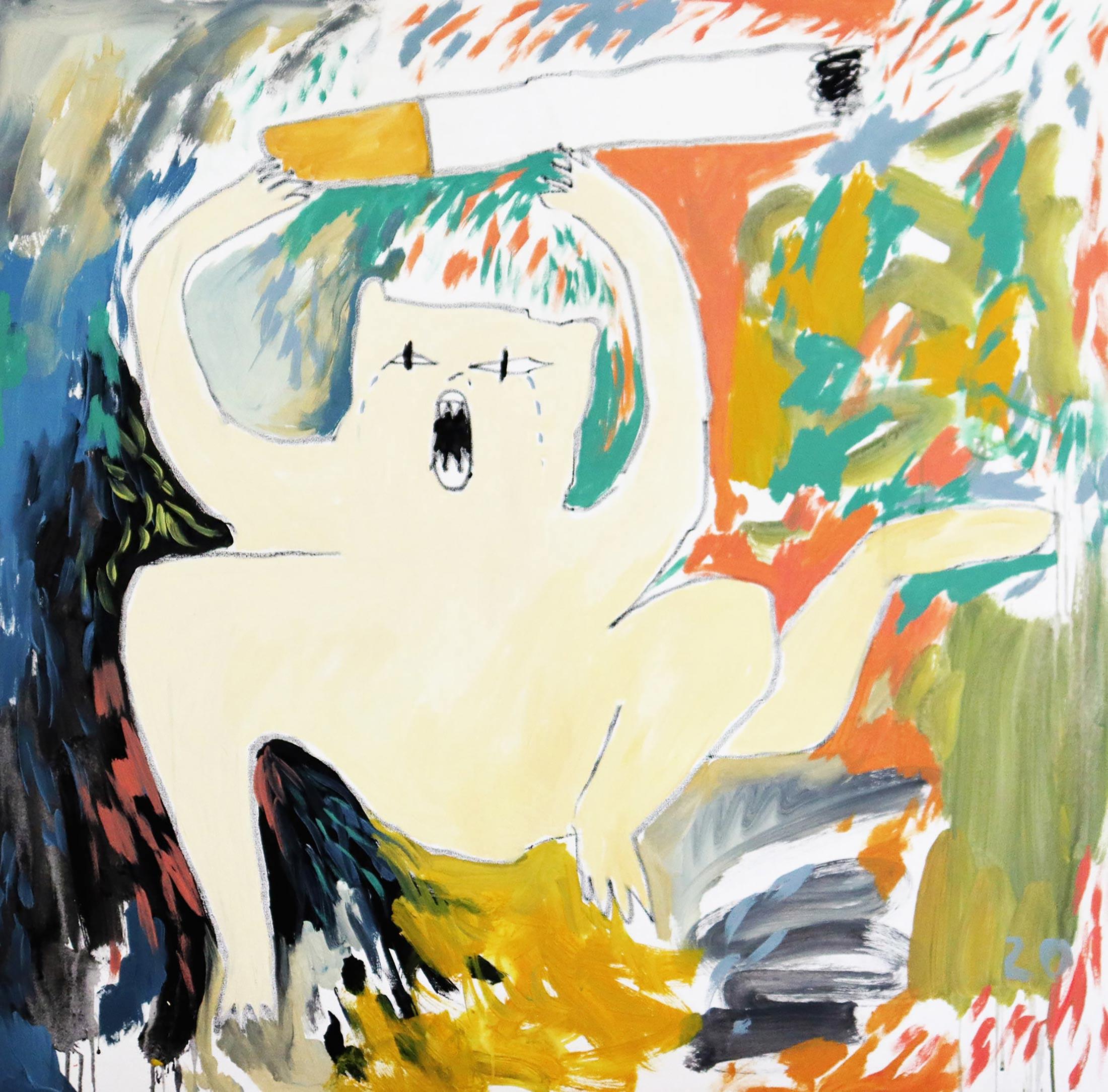 painting, abstract, artcollector, artadvisory, munchies art club, domi gratz