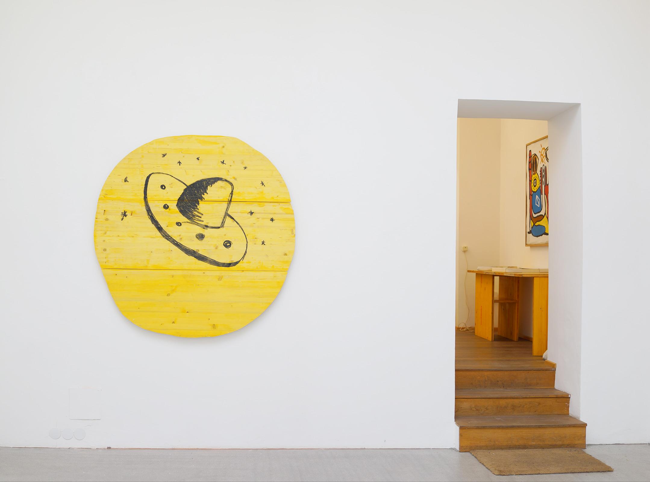 ernst koslitsch, viewing room, gallery raum mit licht