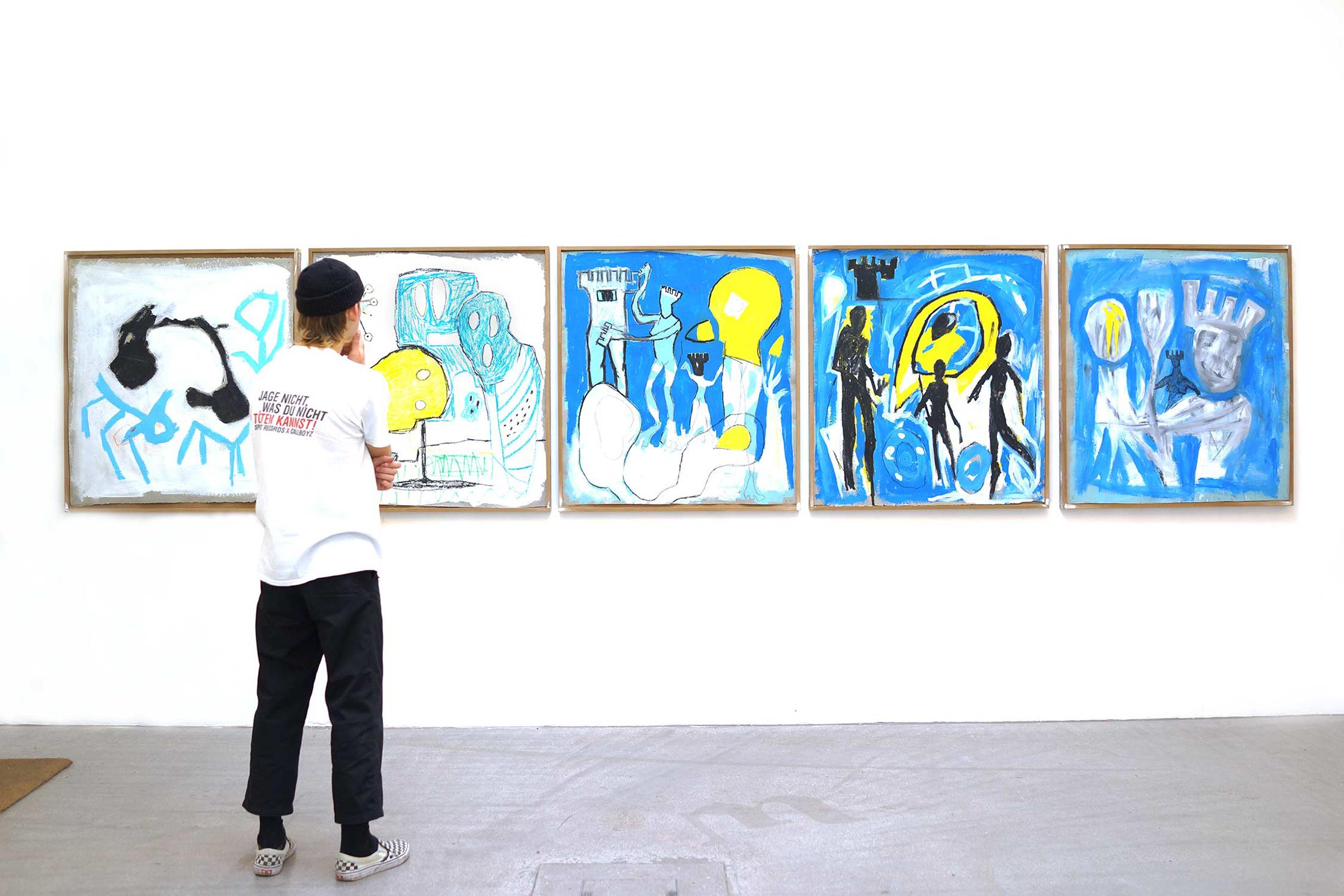 ernst koslitsch, installation view, raum mit licht gallery