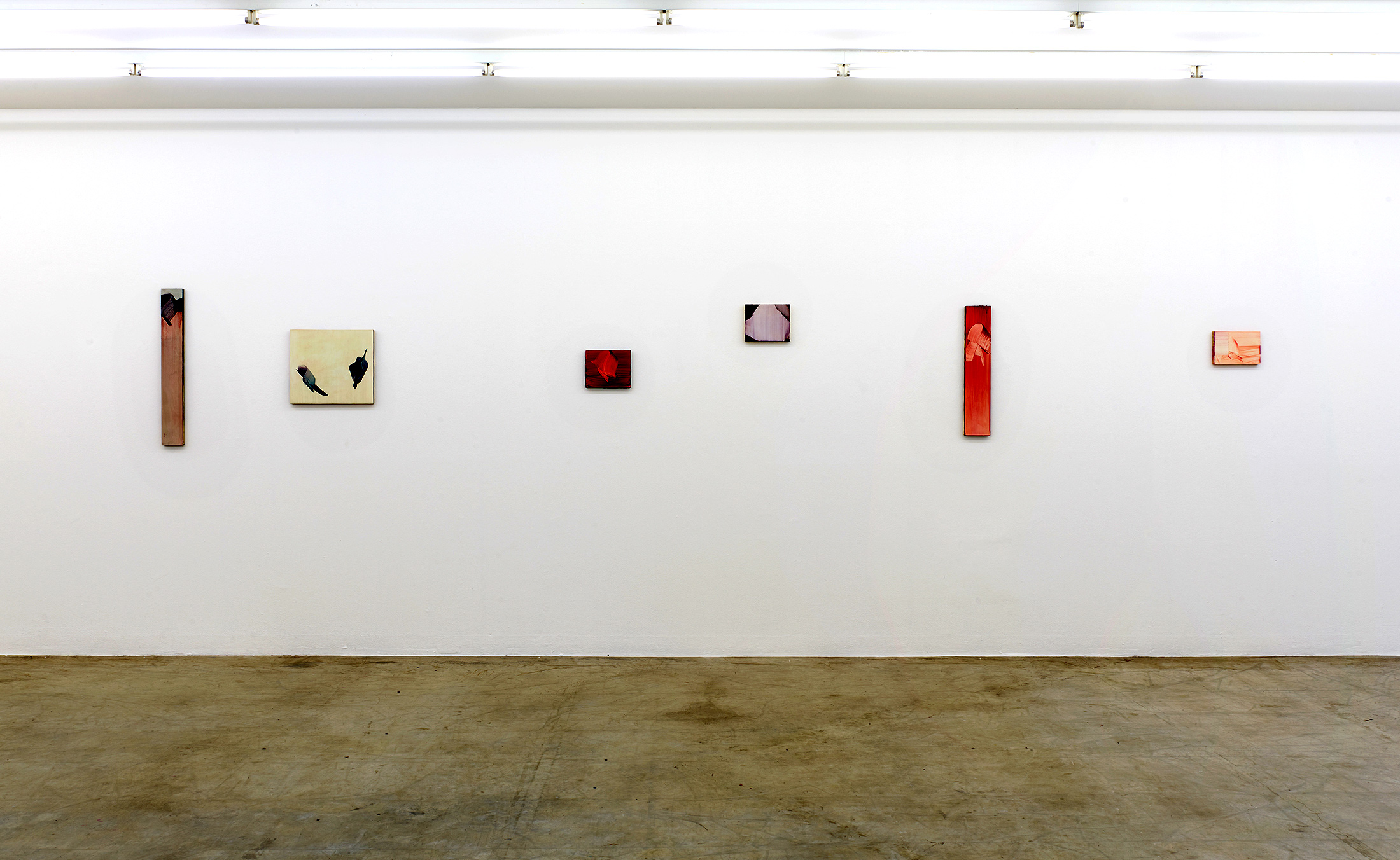 markus saile, exhibition view, viewing room