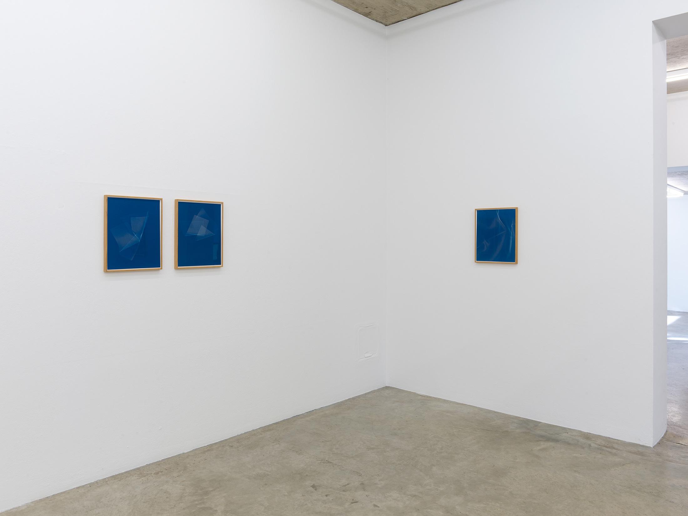 installation view, nak, aachen, blue photography, fine art