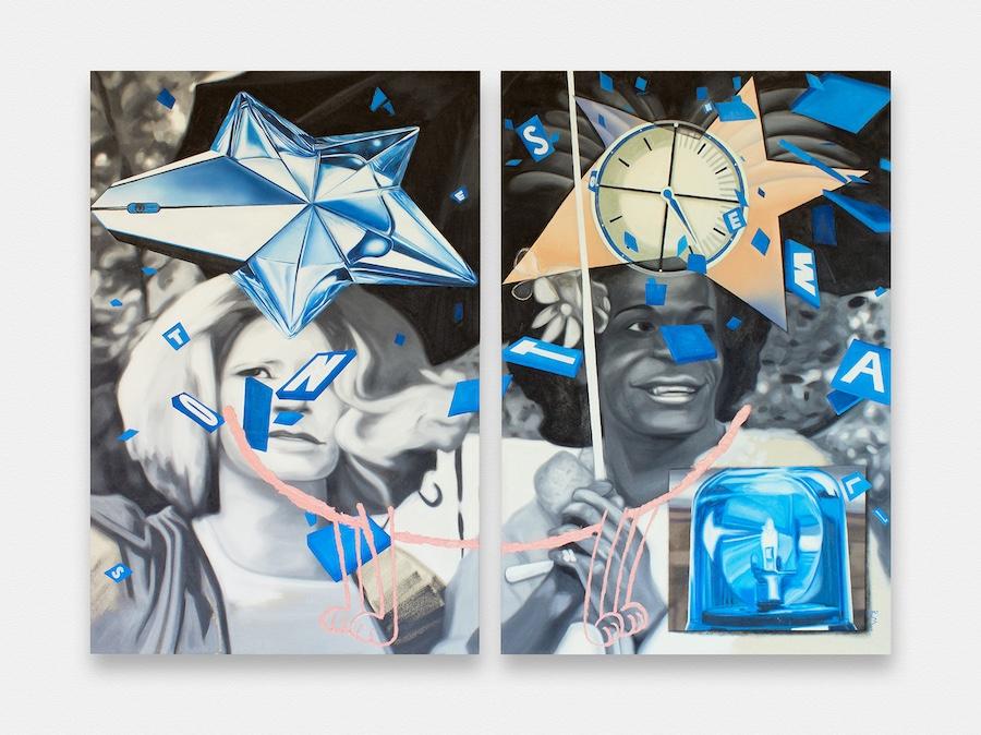 contemporary painting, spotlight, bex massey, britians young artist