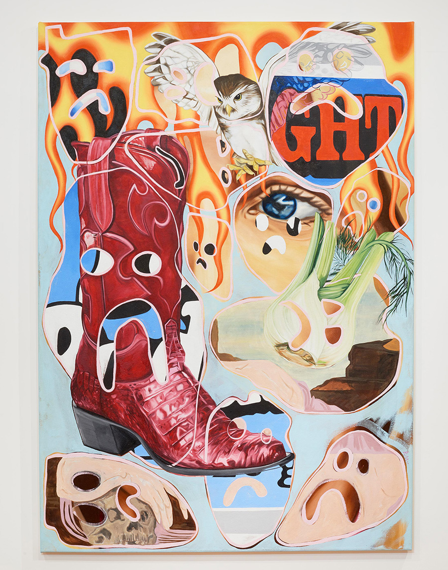 bex massey painting, featured artist, munchies art club, young talents, london