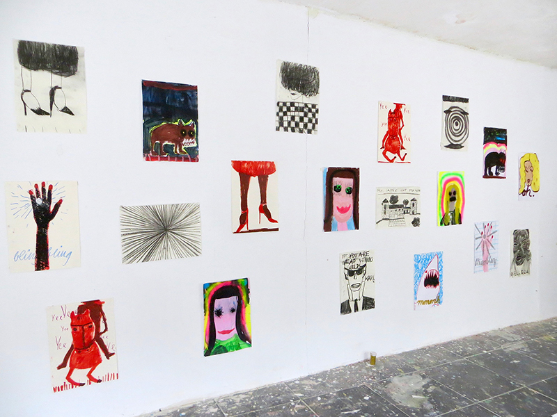 contemporary female artist, to discover, viewing room, munchies art club, gabrielle graessle