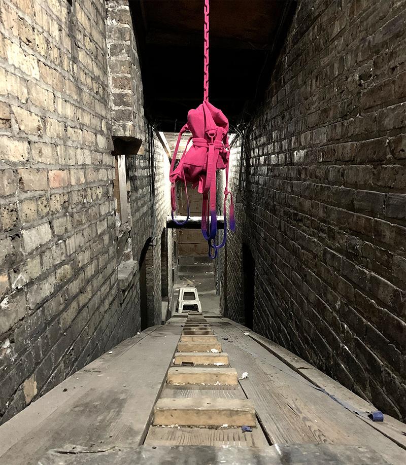 noah kashiani, installation, color, studio chicago, contemporary artist