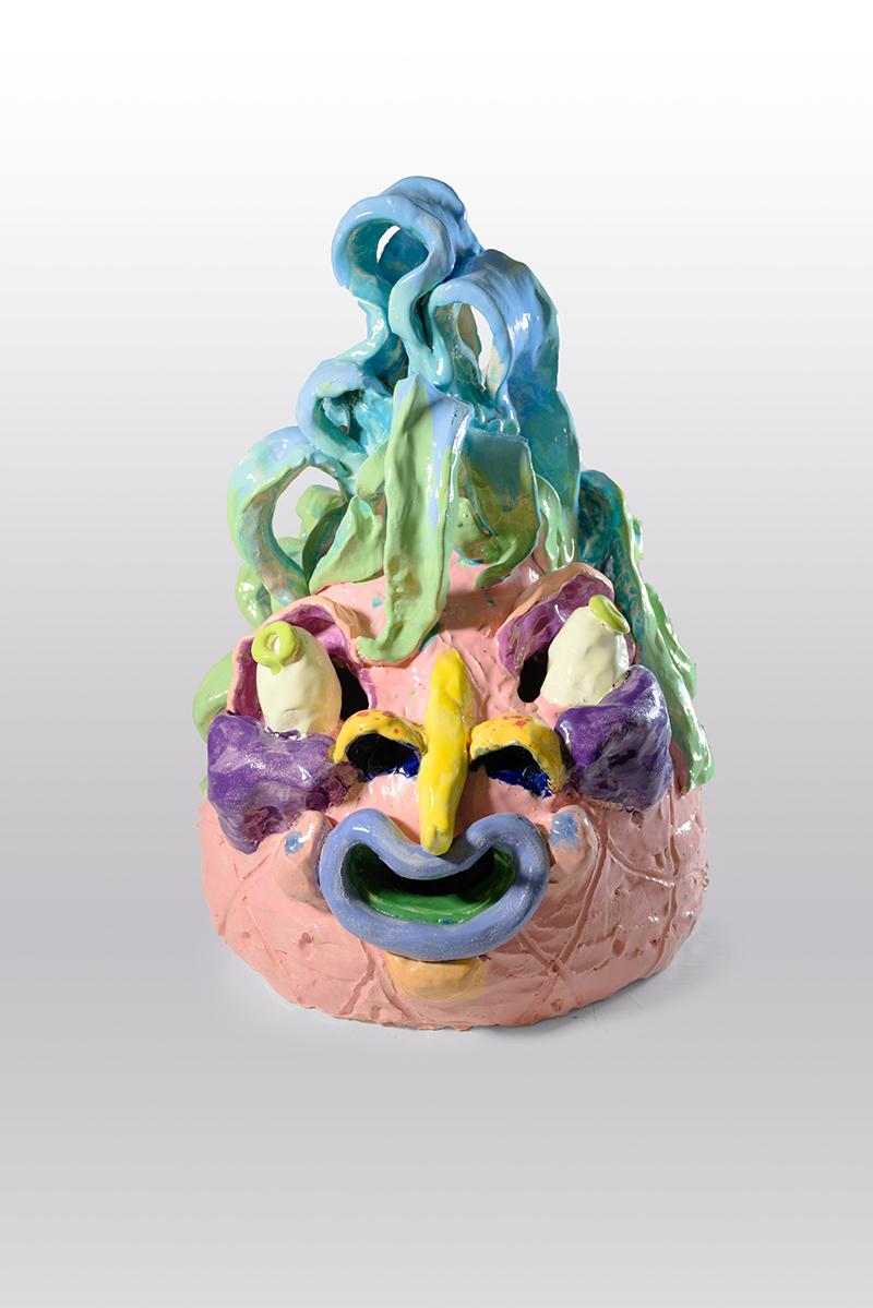 mira makai, figurines, ceramics, contemporary art, glazed ceramic