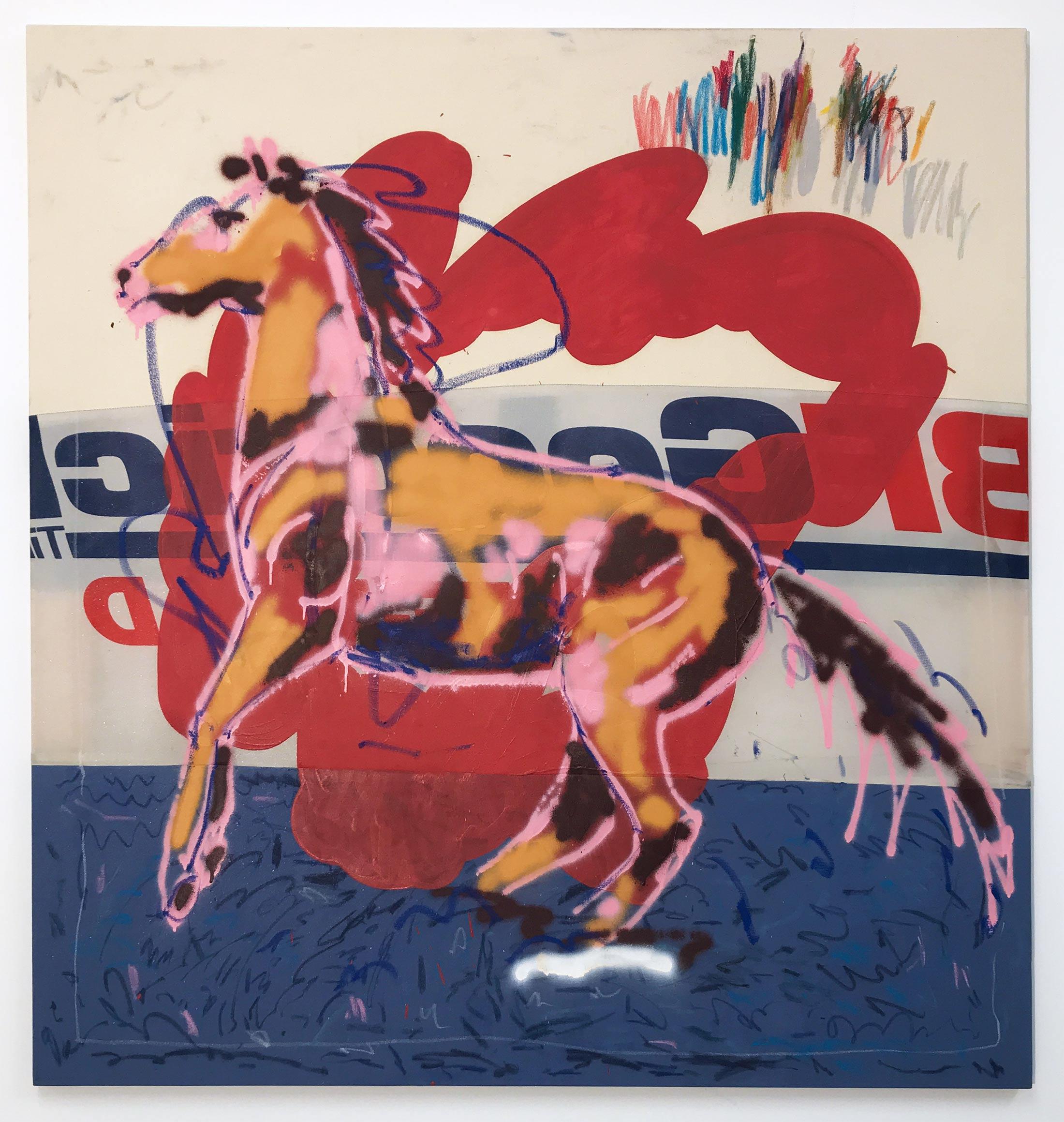 laurentius sauer, mixed media, spray paint, painting, coal, spotlight on, featured artist, contemporary art, world