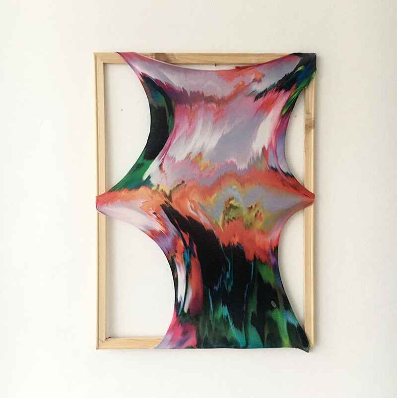 instagram, home studio, gallery, deviant art, stretched, material, frame, wood