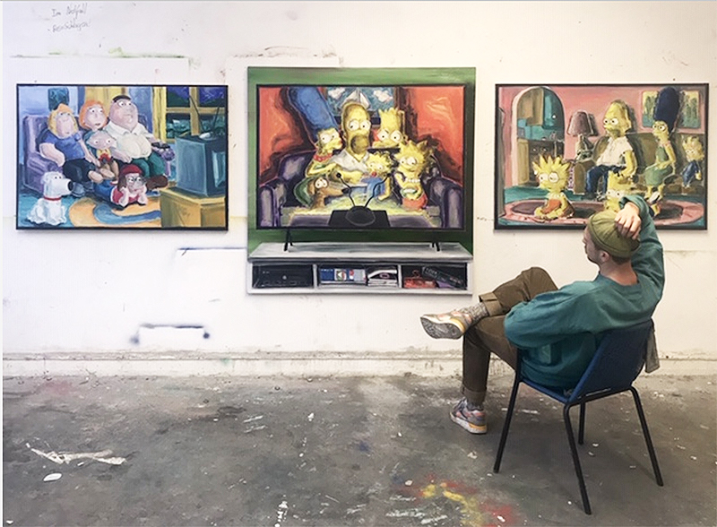 art academy, karlsruhe, tatjana doll class, germany, student