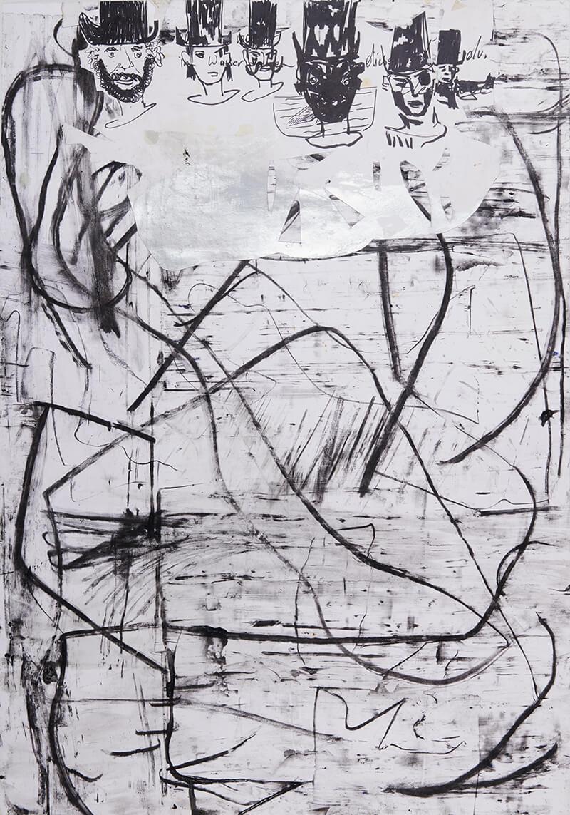 painting, larger than life, sculpture, sculpture, rising star