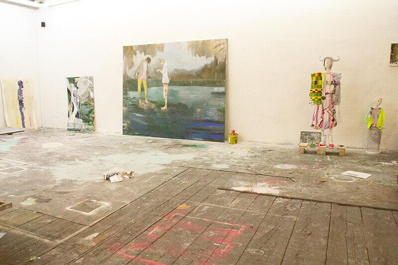 agent, artiste, composition,  landscape, dark, light, depiction, portrayal,
