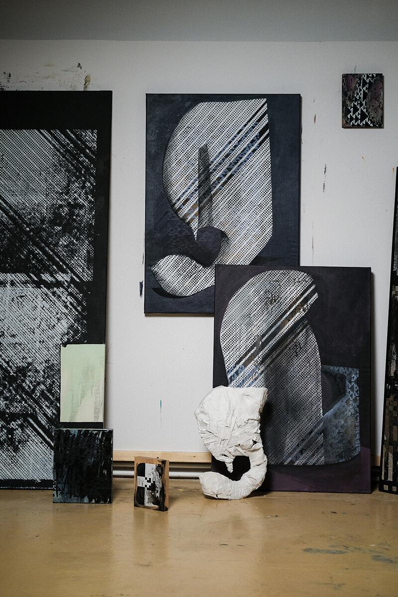 zeitgenössische kunst, künstler, maler, online, plattform