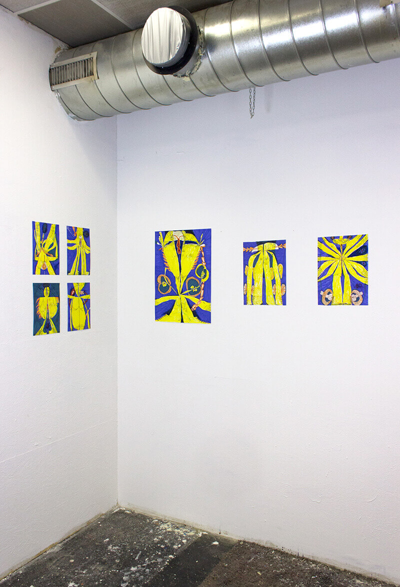 university fine arts, student, jan svenungsson class, print making