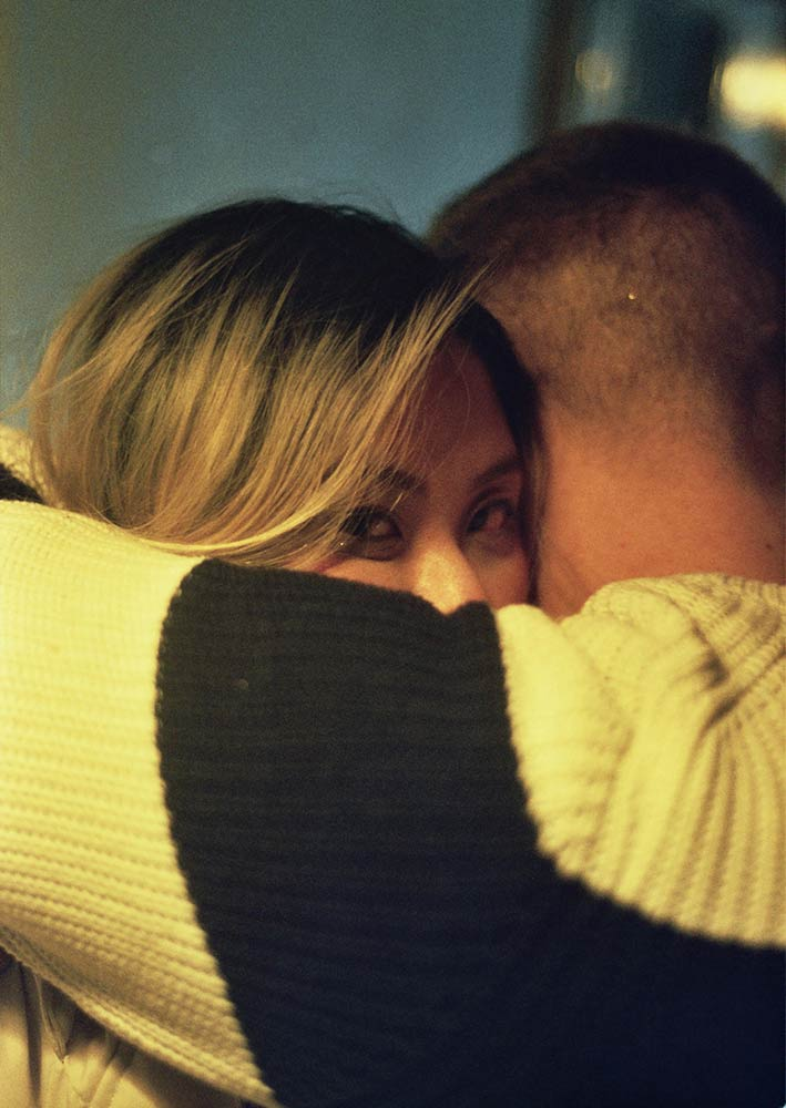 paula hummer, color photography, young austrian artist, capturing an intimate moment