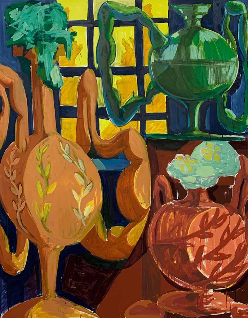 unique piece, nature, influences, erasmus, student of the arts, studio
