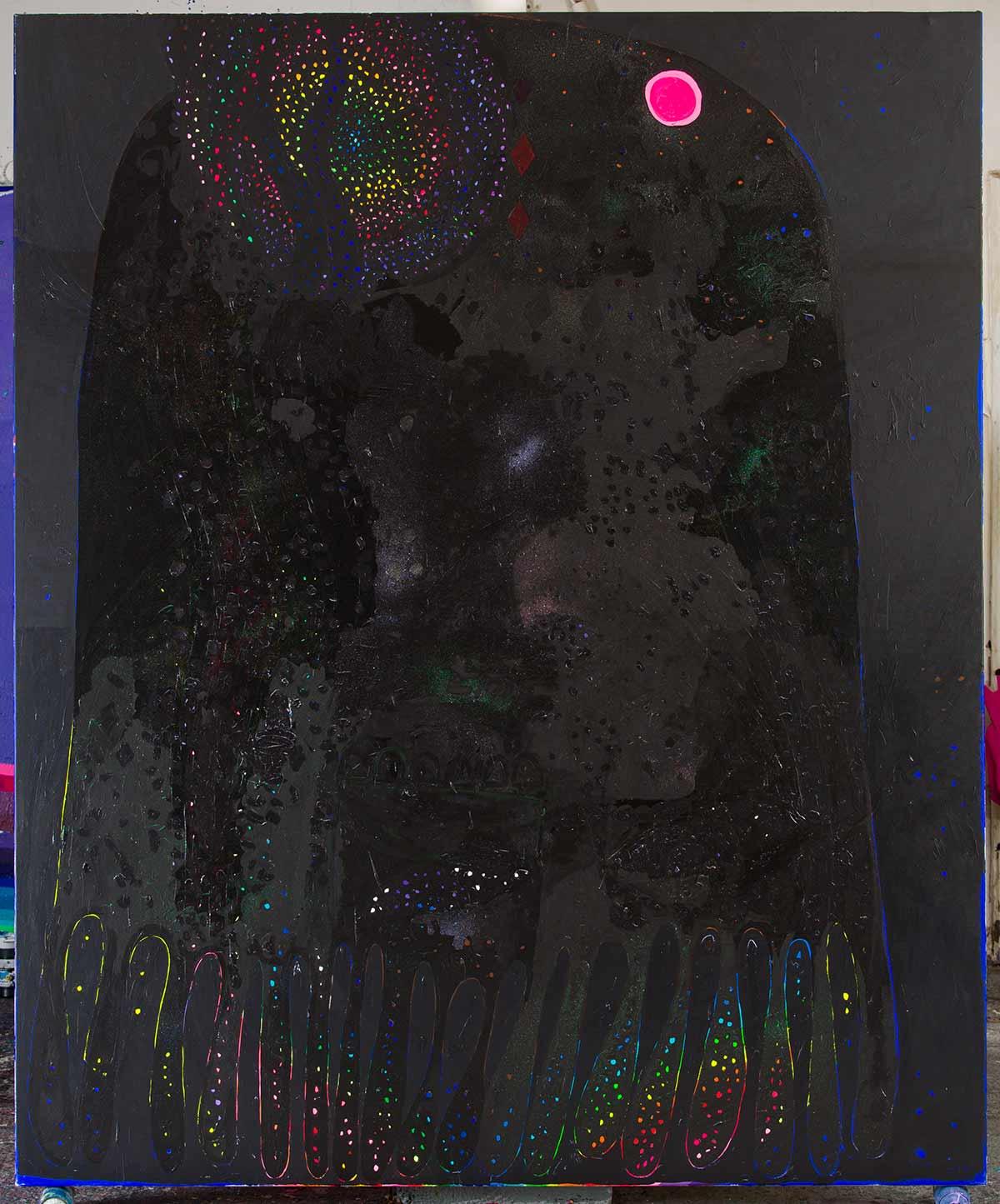 mimesis, imitation, stardust, france, vienna, versailles, greece, black, dark, glitter,