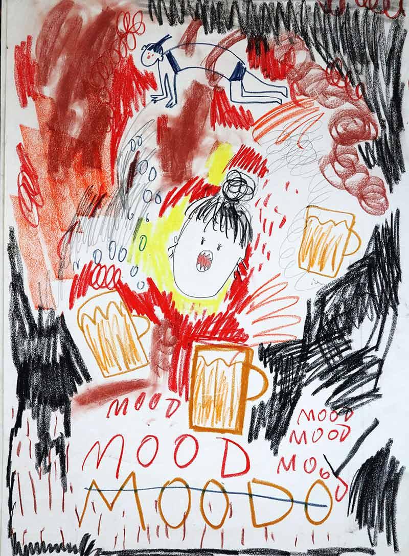 artist to watch, portrait, spotlight art news, emerging young painter