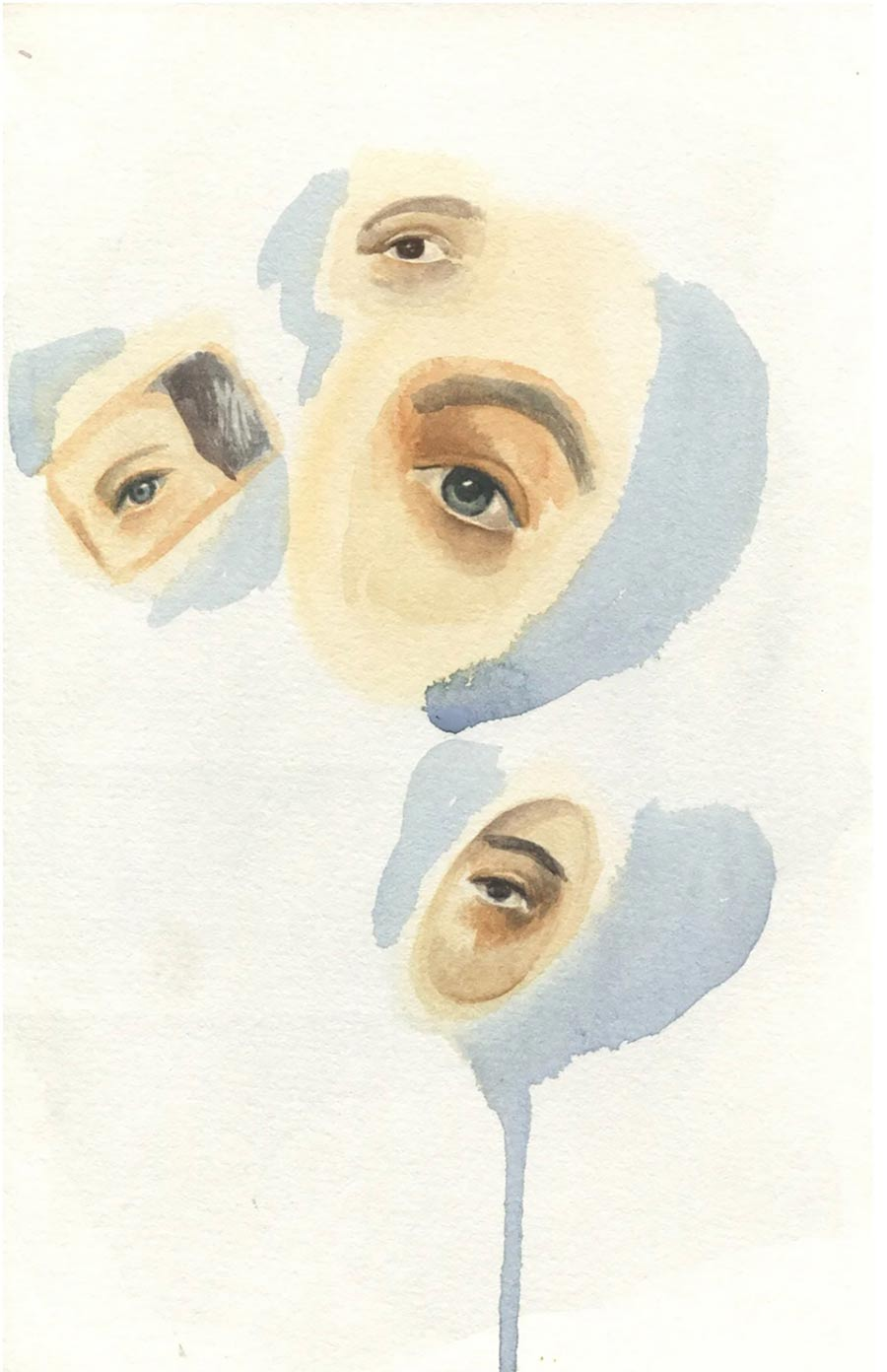 eyes of the beholder, contemporary artwork, painting, vienna based female artist titania seidl