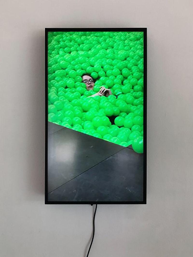 lars eidinge, screen, video installment, artsy, art news, show
