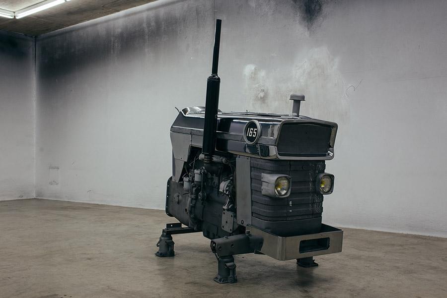xavier mary, creating futuristic, modern sculpture, exhibition