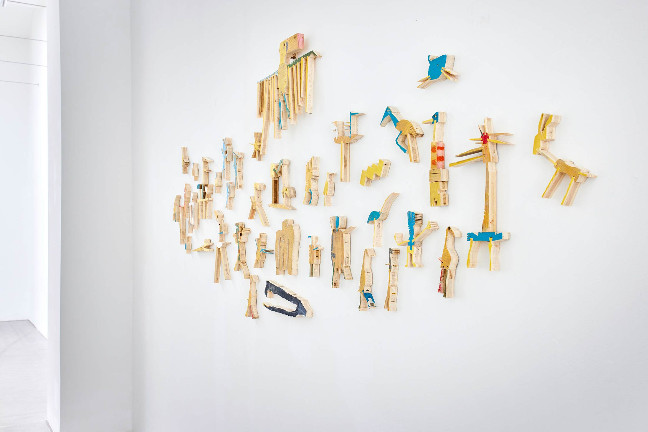 detail, exhibition, raum mit licht, installation art, 5000 years, gallery